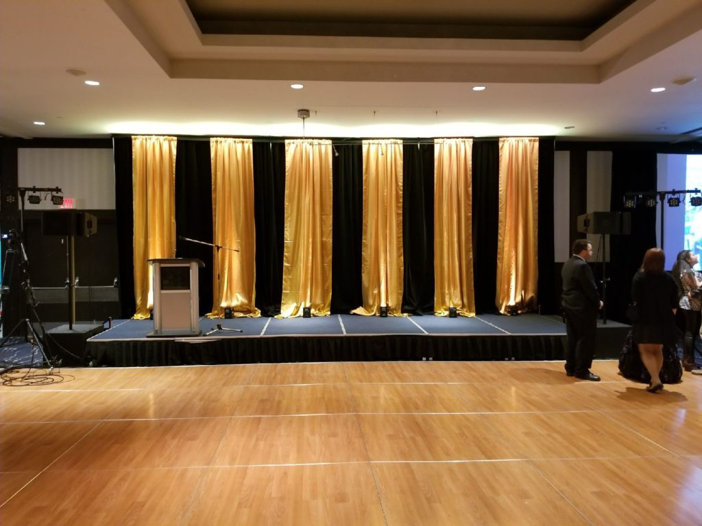 Custom Backdrop Rentals Edmonton - Infinite Event Services